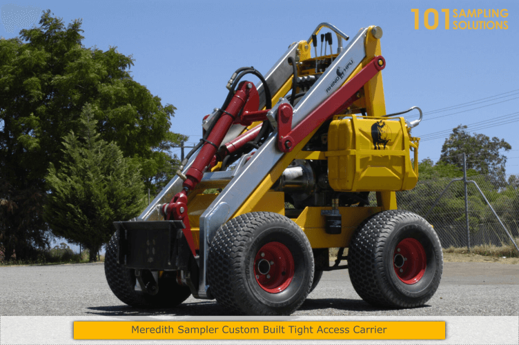 Meredith Sampler Custom Built Tight Access Carrier