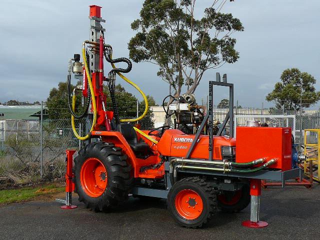 Kubato Tractor