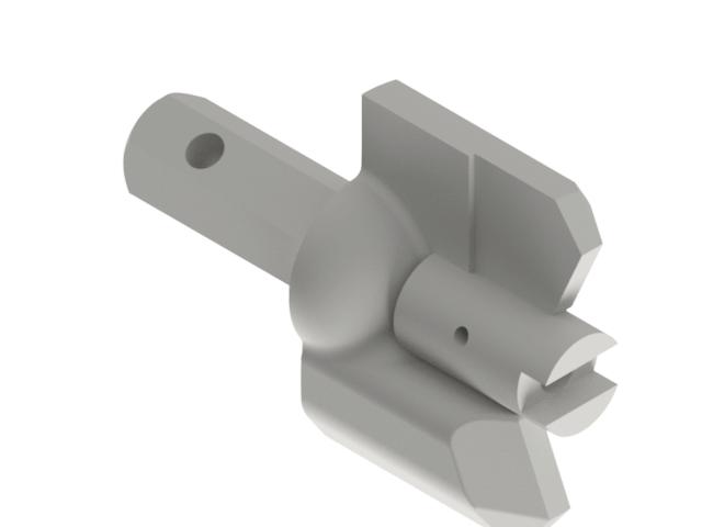 32408 4in 2 Bit Drill Blade Coal.